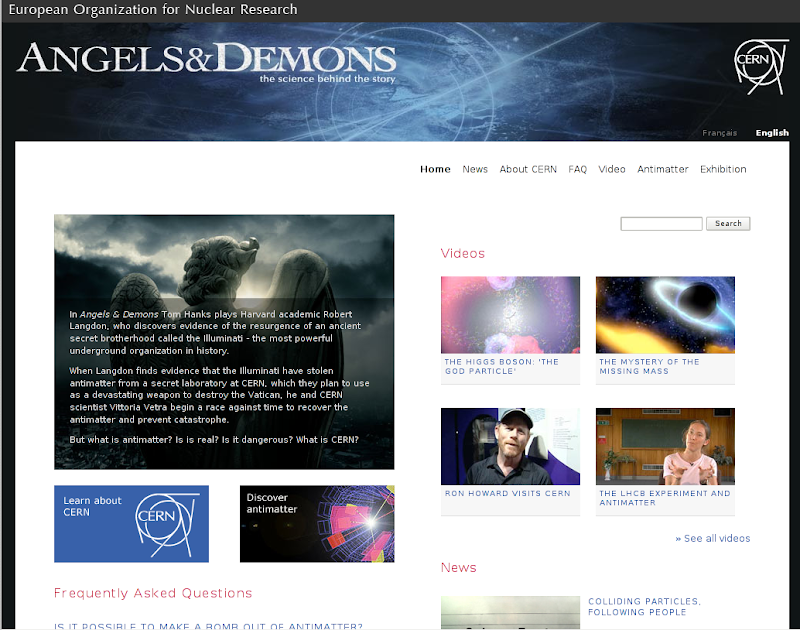 Thesis about angels and demons
